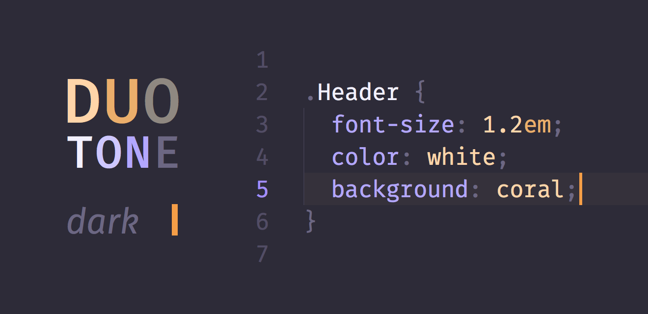 duotone themes syntax themes for atom